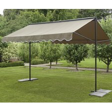 "Retractable 9'2"" H x 9'10"" W x 12'11"" D Gazebo"