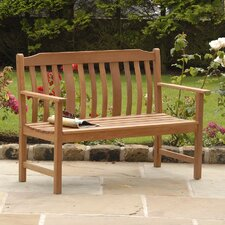 Highland Nyatta Wood Garden Bench