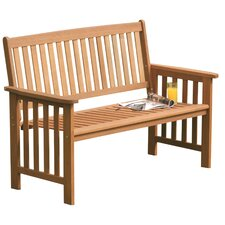 Camillion Mixed Hardwood Garden Bench