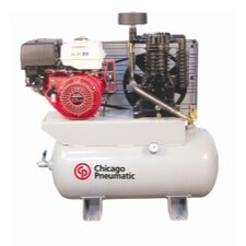 30 Gallon 13 Hp Honda 30H 2 Stage Gas Driven Air Compressor
