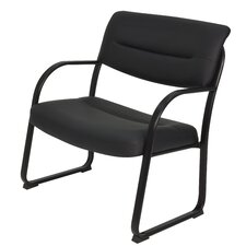 Crusoe Leather Guest Chair