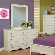 Dulce 6 Drawer Dresser