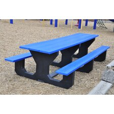 Toddler Recycled Plastic Picnic Table