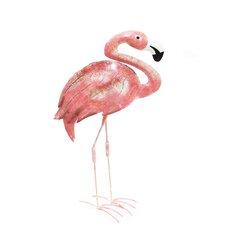 Flamingo Iron Décor Statue