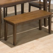 Solid Rubber Wood Kitchen Bench