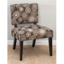 Bella Fabric Slipper Chair
