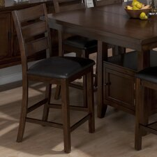 "Taylor 24"" Bar Stool with Cushion (Set of 2)"