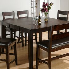 Rustic Prairie Extendable Dining Table