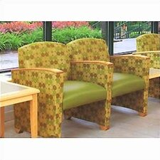 Savoy Two Seats with Center Arm