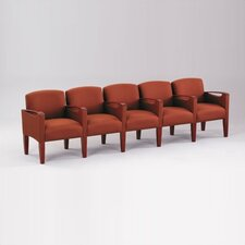 Brewster Five Seats with Center Arm
