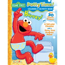 Elmo Potty Training Activity Book
