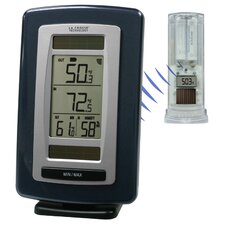Solar Powered Temperature Station