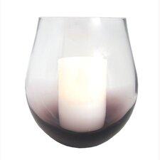 Pacific Accents Bordeaux Glass Hurricane