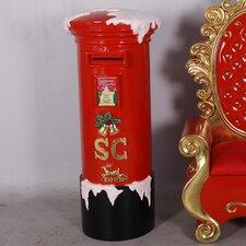 Polyresin Mail Box Christmas Decoration