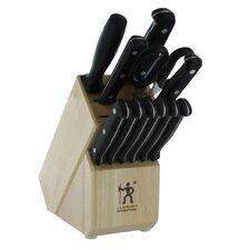 International Fine Edge Pro 12 Piece Cutlery Block Set