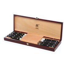 Twin Gourmet 8 Piece Steak Knife Set with Decorative Box