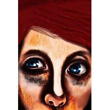 Eye Girl Painting Print on Canvas