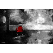 """""""Red Chair"""" Painting Prints on Canvas"""
