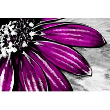 Purple Petals Painting Prints on Canvas