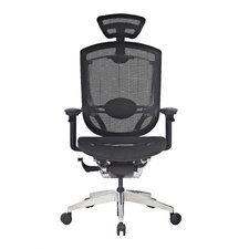 L'Aqua Mid-Back Mesh Executive Office Chair