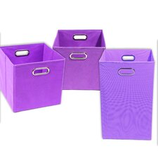 Color Pop Solid 3 Piece Organization Bundle Set