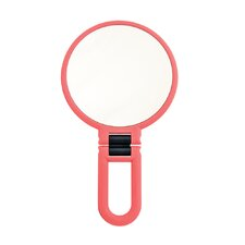 Soft Touch Hand Held Mirror