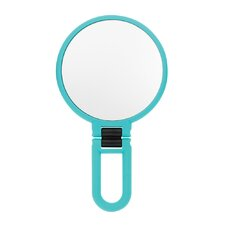 Soft Touch Folding Hand Mirror