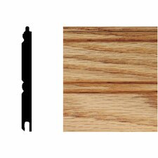 5/16 in. x 3-1/8 in. x 8 ft. Oak T&G Wainscot Panels (6-Pieces)