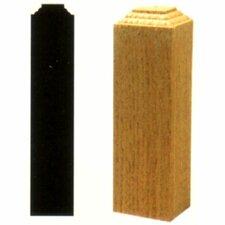 1-1/4 in. x 1-1/4 in. x 6 in. Oak Outside Corner Block Moulding