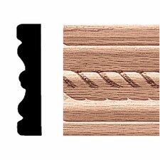 1/2 in. 2-1/4 in x 7 ft. Oak Rope Fluted Mullion/Casing Moulding