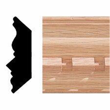 3/4 in. 2-1/4 in. x 8 ft. Oak Dentil Crown Moulding