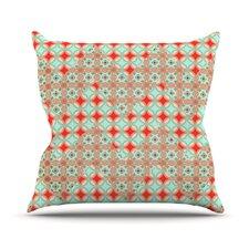 Traveling Caravan Pattern Throw Pillow