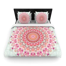 """Summer Lace III"" Circle Woven Comforter Duvet Cover"