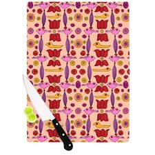 Indian Jewelry Repeat by Jane Smith Cutting Board
