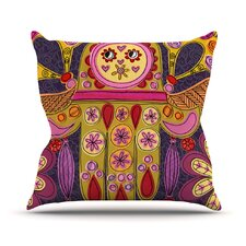 Indian Jewelry by Jane Smith Throw Pillow