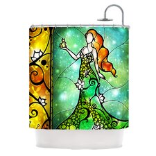 Fairy Tale Frog Prince Shower Curtain