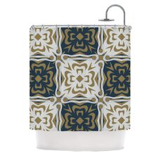 Contemporary Granny Shower Curtain