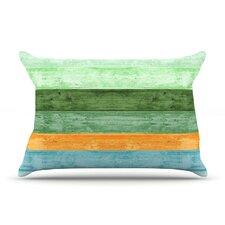 Beach Wood Pillow Case