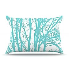 Mint Trees Pillow Case