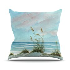 Sea Oats Polyester Throw Pillow
