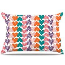 Hearts Pillowcase