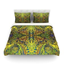 Yellow Jacket Abstrac Duvet Cover