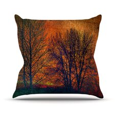 Silhouettes Outdoor Throw Pillow