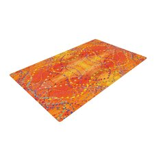 Sunrise Orange Area Rug