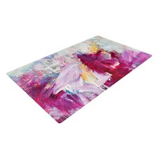 Magenta Novelty Area Rug