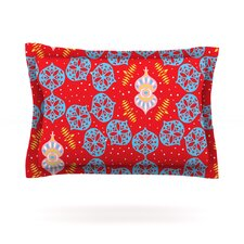 Frosted Red by Miranda Mol Pillow Sham
