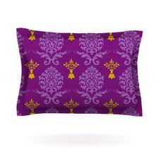 Purple Crowns by Nicole Ketchum Pillow Sham