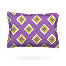 Purple Spash Tile by Nicole Ketchum Pillow Sham