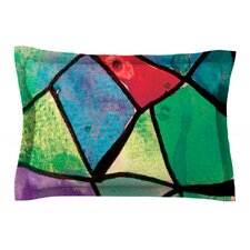 Stain Glass 1 by Theresa Giolzetti Pillow Sham