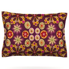 Indian Jewelry Floral by Jane Smith Pillow Sham